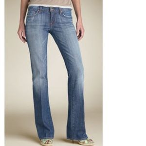 Kelly #001 Low waist Bootcut Stretch Jeans